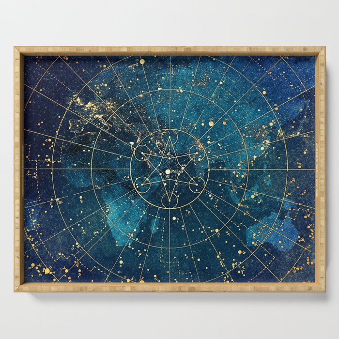 Star Map :: City Lights Serving Tray