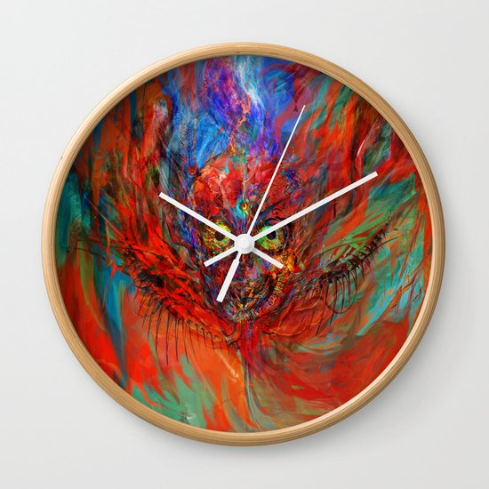 When soul leaves the body Wall Clock