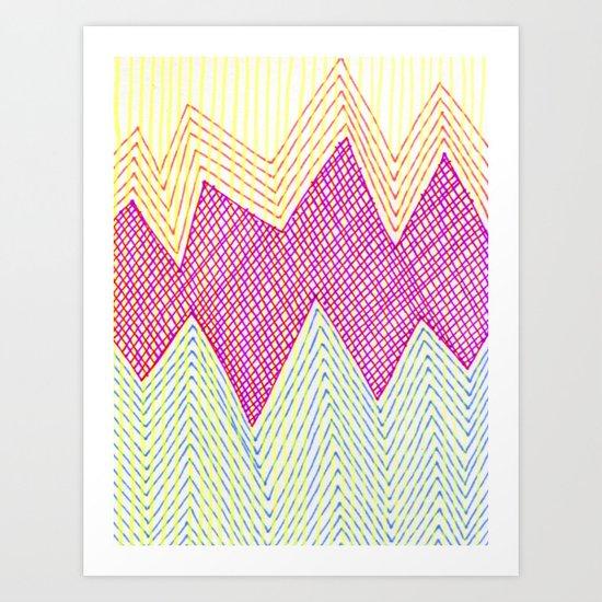 SummerJazz Art Print