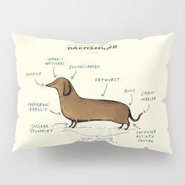 Anatomy of a Dachshund Pillow Sham