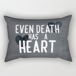 The Book Thief - Even Death Has a Heart Rectangular Pillow