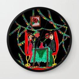 Christmas Dinner | Kids Painting Wall Clock