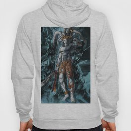 Ifrit ffxv astral corrupted artwork Hoody