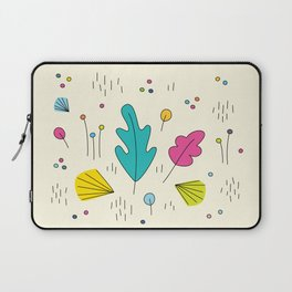 leaves and colors in the forest Laptop Sleeve
