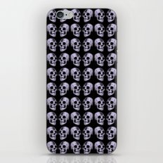blue print skull iPhone & iPod Skin