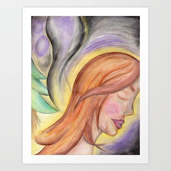 Translucent Life Art Print