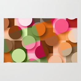 dots & squares Rug
