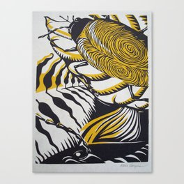 """""""Oxygen"""" Canvas Print"""