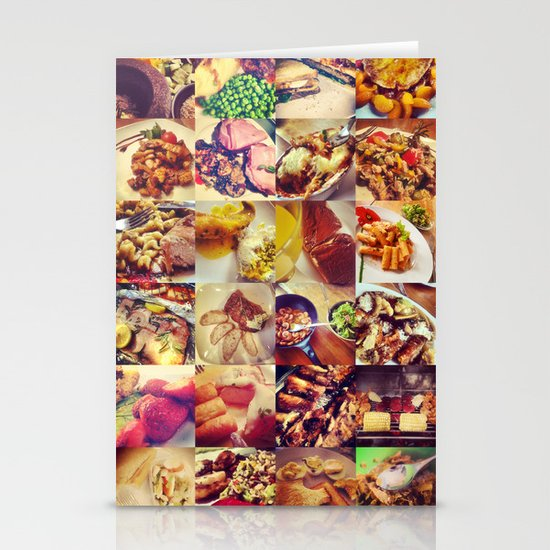 Food Porn Stationery Cards