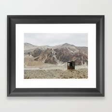 Road Stop Framed Art Print