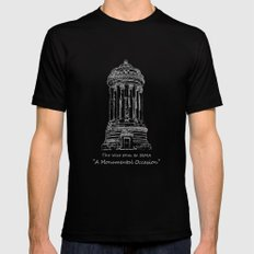 Monument Mens Fitted Tee Black LARGE