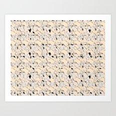 Raving lanscape Art Print