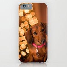 Dachshund Christmas Slim Case iPhone 6