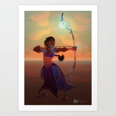 Archer Tda-ora Art Print