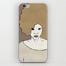 Female Four iPhone & iPod Skin