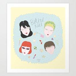 Bikini Kill Art Print