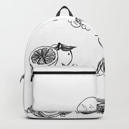 Citrus grocery store Backpack