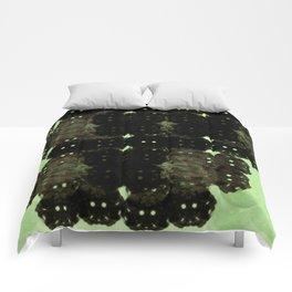 Alien Cocoons Comforters