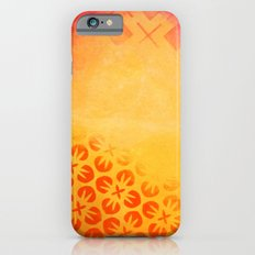 Firery Flowering Slim Case iPhone 6s