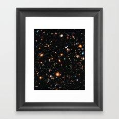 Hubble Ultra Deep Field Framed Art Print
