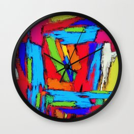 Crusher Wall Clock