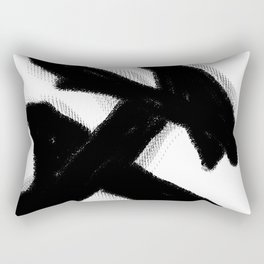 undo the wrong mistake Rectangular Pillow