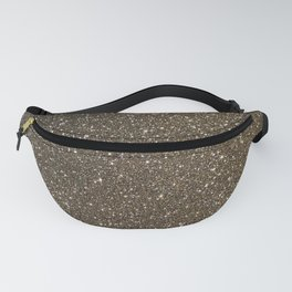Bronze Gold Burnished Glitter Fanny Pack