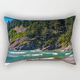 Oswald Beach, Oregon Rectangular Pillow