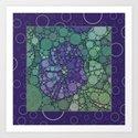 Percolated Purple Potato Flower Reboot  by charmarose