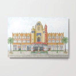 Fox Theatre in Oakland, CA Metal Print