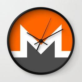 Monero Logo Wall Clock