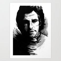 DARK COMEDIANS: Ben Stiller Art Print