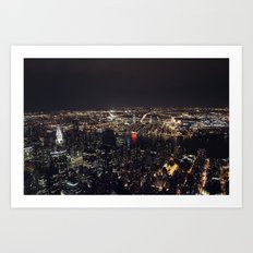 From the Empire State Building I Art Print