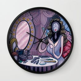 Holly Wood The Cracked Wall Clock
