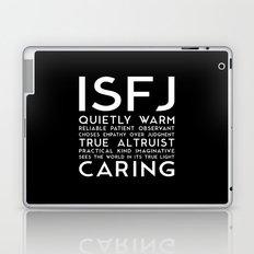 ISFJ (black version) Laptop & iPad Skin