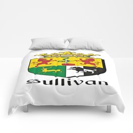 Family Crest - Sullivan - Coat of Arms Comforters