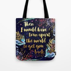 ACOMAF - Torn Apart The World Tote Bag