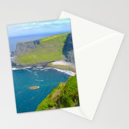 Cliffs Of Moher Ireland Landscape Stationery Cards