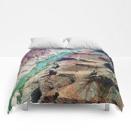 Grand Canyon Bird's eye view #4 Comforters