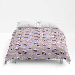 Only cakes 1 (Purple) Comforters
