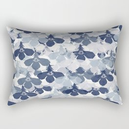 Abstract flower pattern 2 Rectangular Pillow