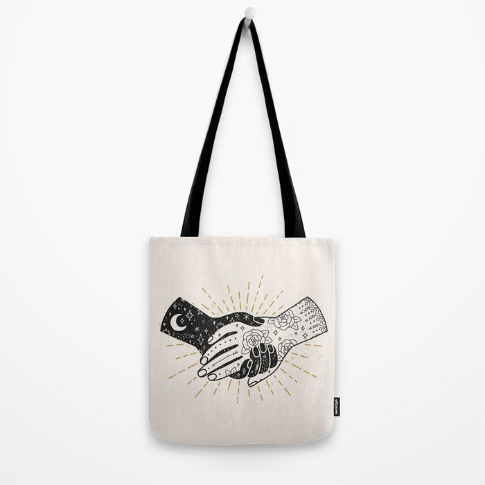 Hold On Tote Bag