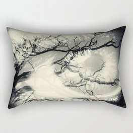 Vision of the Tree Abstract Rectangular Pillow