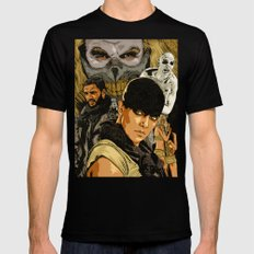 M. M. F. R. X-LARGE Black Mens Fitted Tee