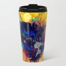 Sunflower Batik Travel Mug