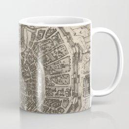 Vintage Map of Milan Italy (1575) Coffee Mug
