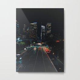 Los Angeles Street Metal Print