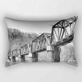 Railroad Trestle Rectangular Pillow