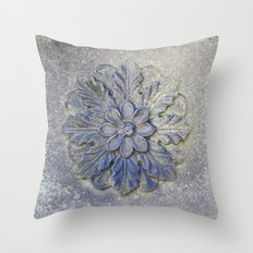 Stone Flower Throw Pillow