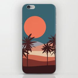 Abstract Landscape 13 Portrait iPhone Skin
